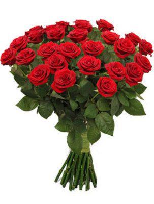 长枝玫瑰花束以浪漫的欧式包装