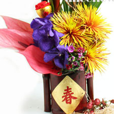 Lunar New Year Flowers & Gifts,Alice Florist Taipei, Taiwan.