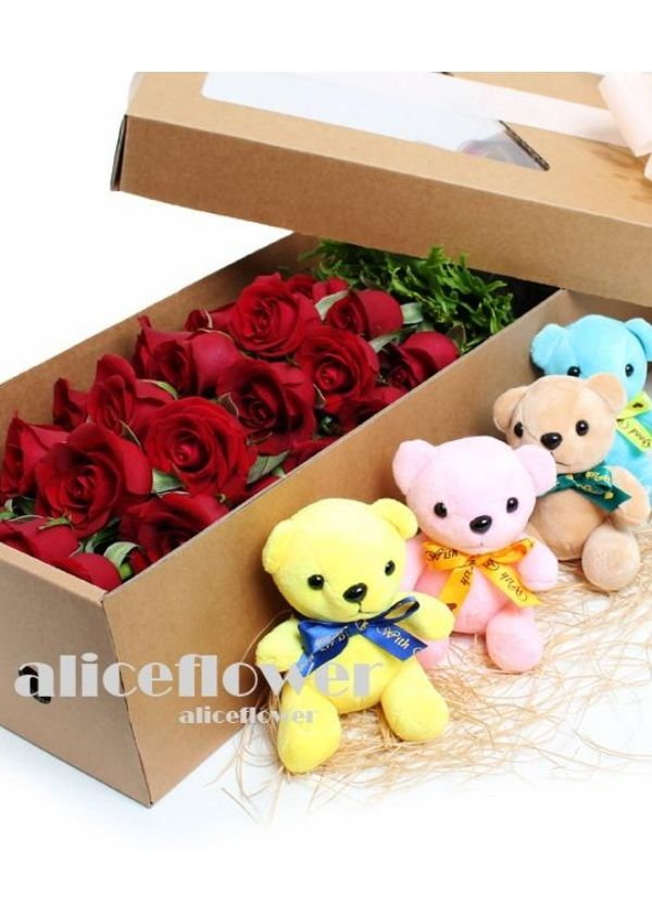 Same Day Flowers Delivery,Sweetheart Celebrae Ultimate Gift