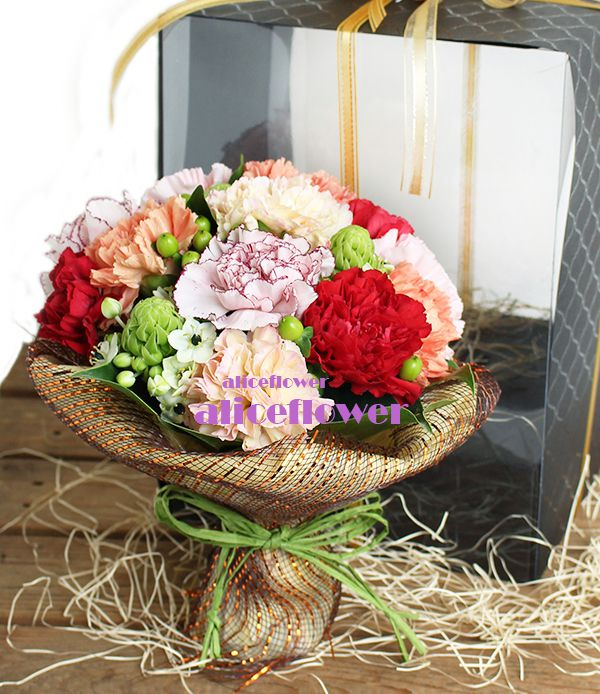 Bouquet in a Box,Warm language