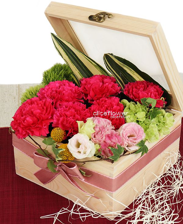 Bouquet in a Box,Mother´s love box
