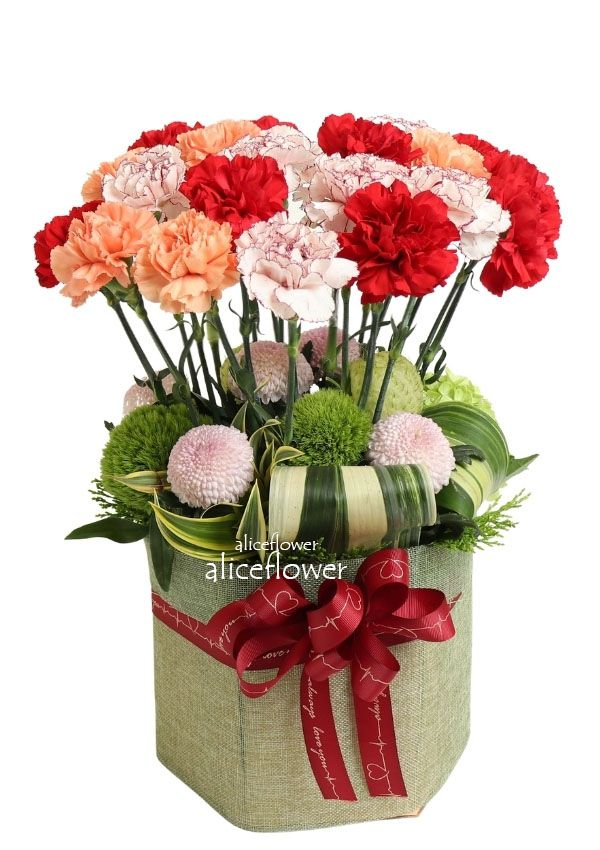 Bouquet in a Vox,Sweet moments carnations