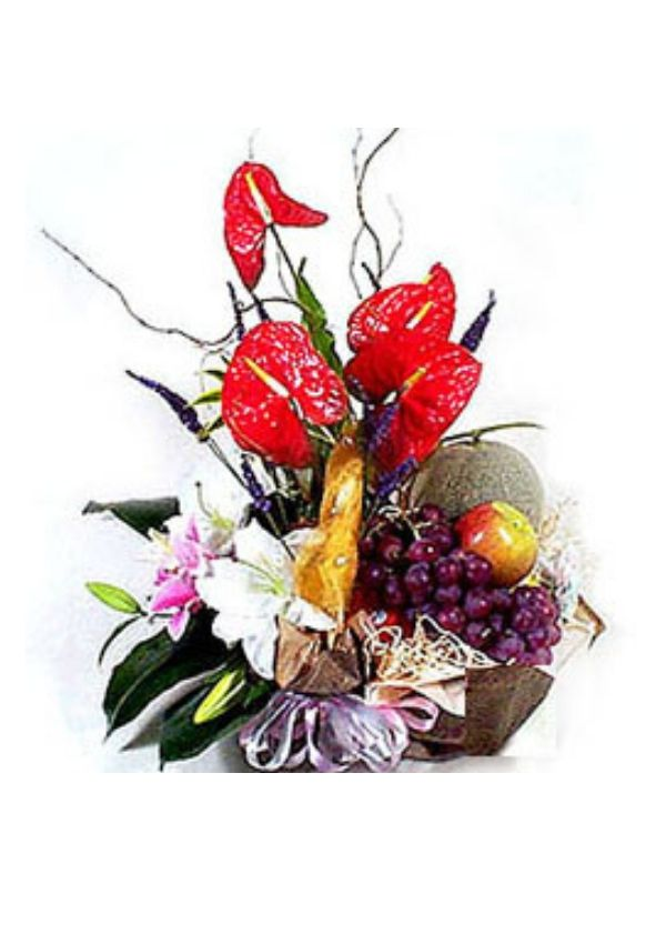 New Baby Flowers,Fruit basket FF002