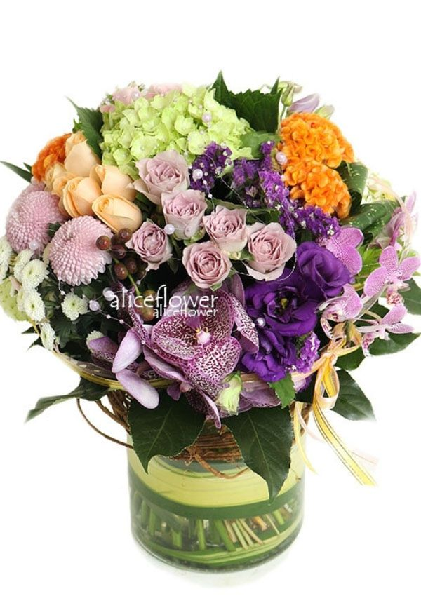 Same Day Flowers Delivery,Seasonal Flower Clusters