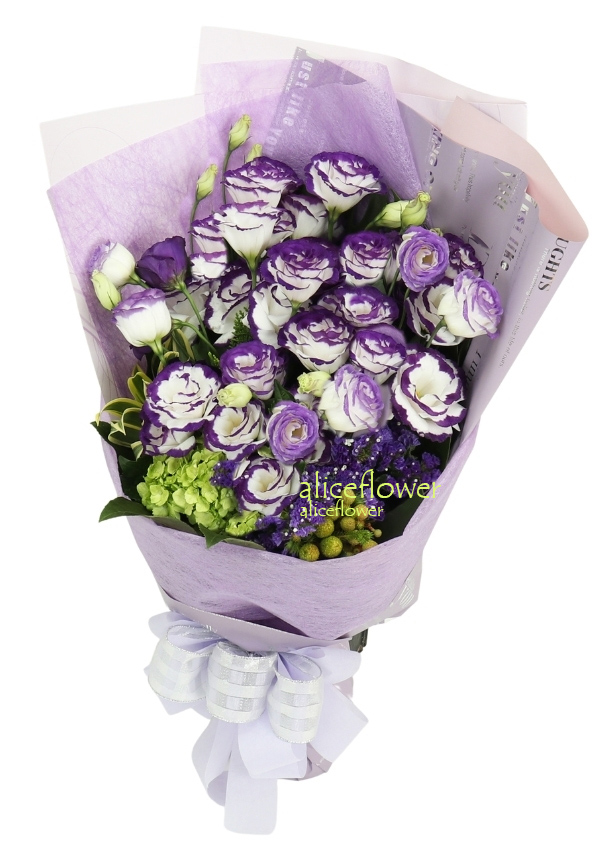 Get Well Flowers,Purple  attraction