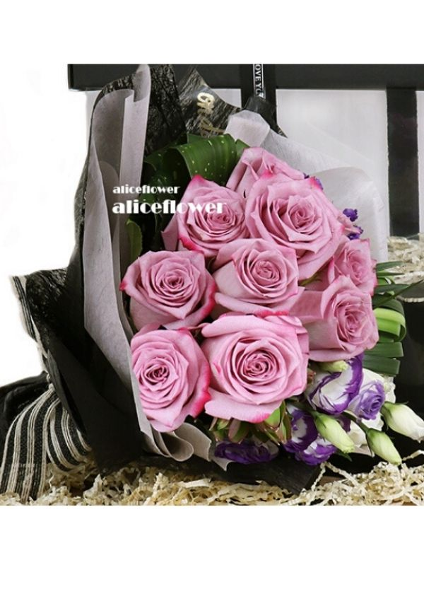 Rose Love,Purple Princess Violet Roses