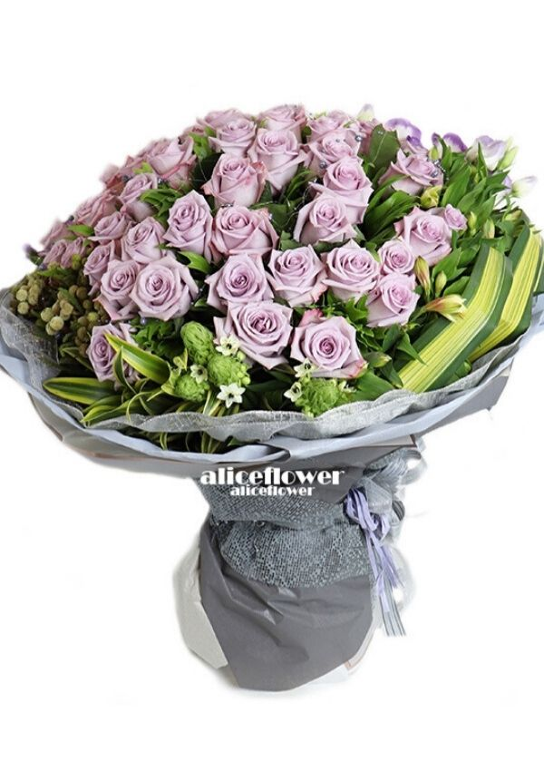 Chinese Valentine´s Day,Provence Rhapsody Violet Roses