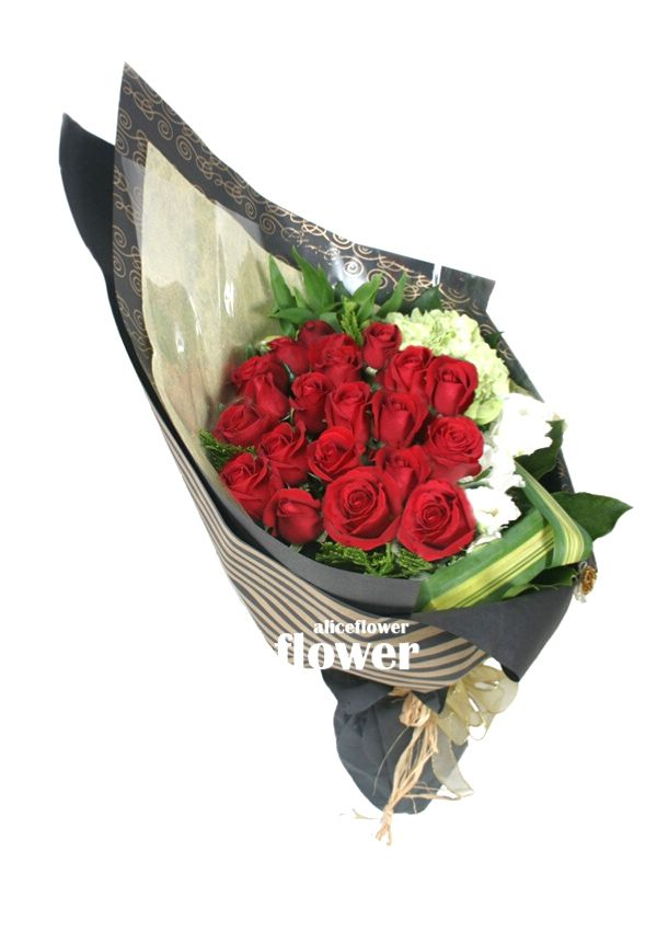 Autumn Flowers,True Love Red Roses