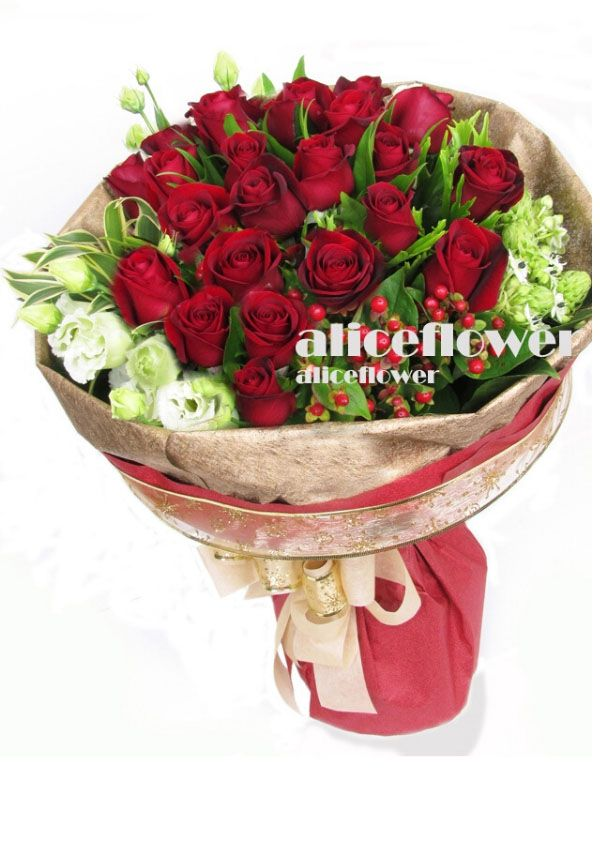 Rose Love,Classic Romance Red Roses