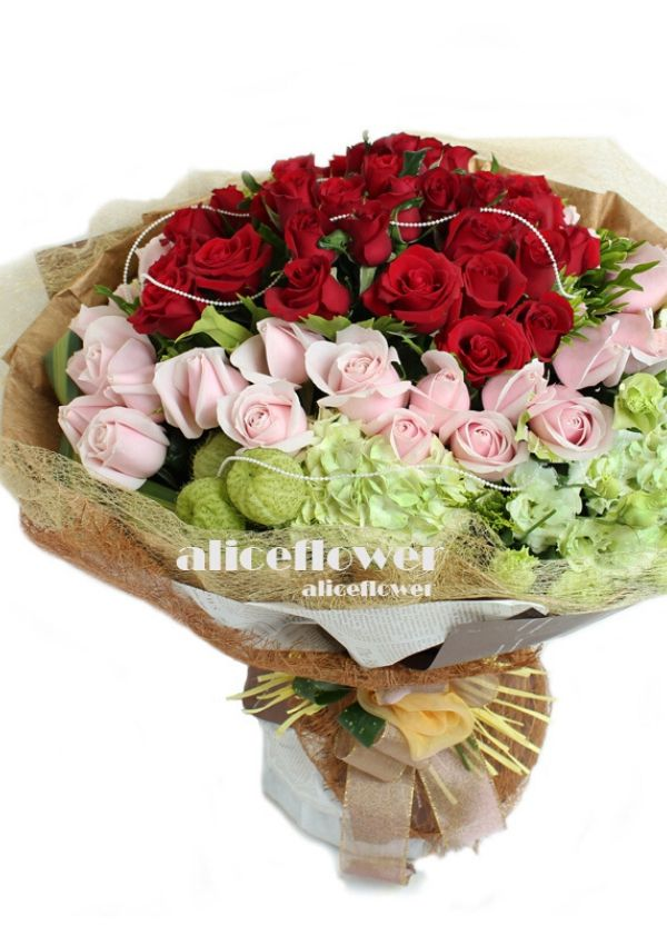Roses Bouquet,Colorful Love