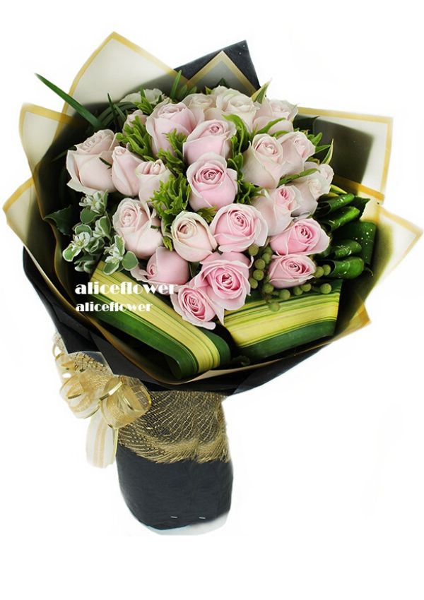 Roses Bouquet,Pink Roses Waltz