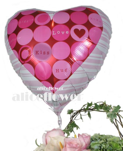 @[Balloon],LOVE  Mylar Balloon