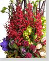 Lunar New Year Flower Arranged,Health and Longevity