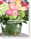 Spring Bouquets in Vase,Beautiful Garden