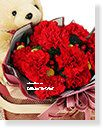 Mother´s Day Imported Carnation Bouquet-Warm embrace,Alice Florist Taipei Taiwan.