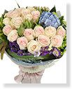 Imported Roses Bouquet,Flori goddess
