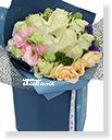 Midsummer Night´s Dream Bouquet-Blue classic,Alice Florist Taipei Taiwan.
