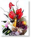 New Baby Flowers-Page1Fruit basket FF002