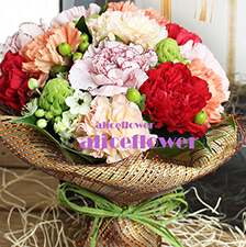 Mother´s Day Arranged Flowers-Mother´s love box-Alice Florist Taipei.
