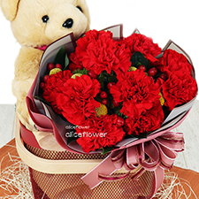 Mother´s Day Bouquet- Warm embrace-Alice Florist Taipei.