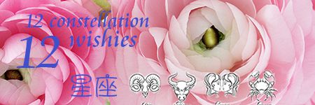 A guide for sending valentine bouquets to lover classified by twelve constellations. Alice Florist Taipei, Taiwan.