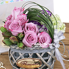 Thanksgiving Flowers and Gifts-Purple store - Alice Florist Taipei, Taiwan.