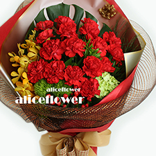 Mother´s Day Bouquet-Warm Best Mom-Alice Florist Taipei.