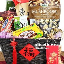 Lunar New Year Hamper-Prosperity New Year Hamper-Taipei Alice Flower